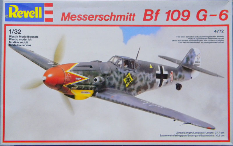 Revell-Germany Messerschmitt Bf 109G-6   Large Scale Planes