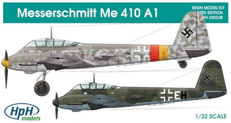 Hph Models 32023r Messerschmitt Me 410a 1 Large Scale