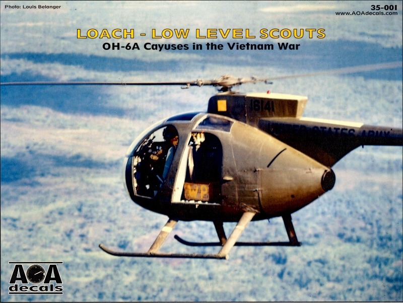 AOA Decals 35-001: OH-6A Cayuses in the Vietnam War   Large