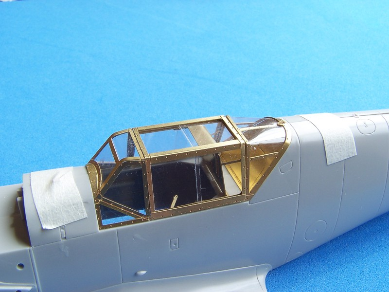 Image 01 & RB Productions RBP32004: Detailed 1:32 canopy for the Bf 109F ...