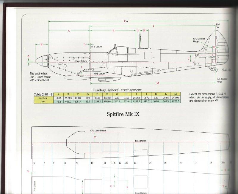 Monforton Press Spitfire IX & XVI, Engineered | Large Scale Planes