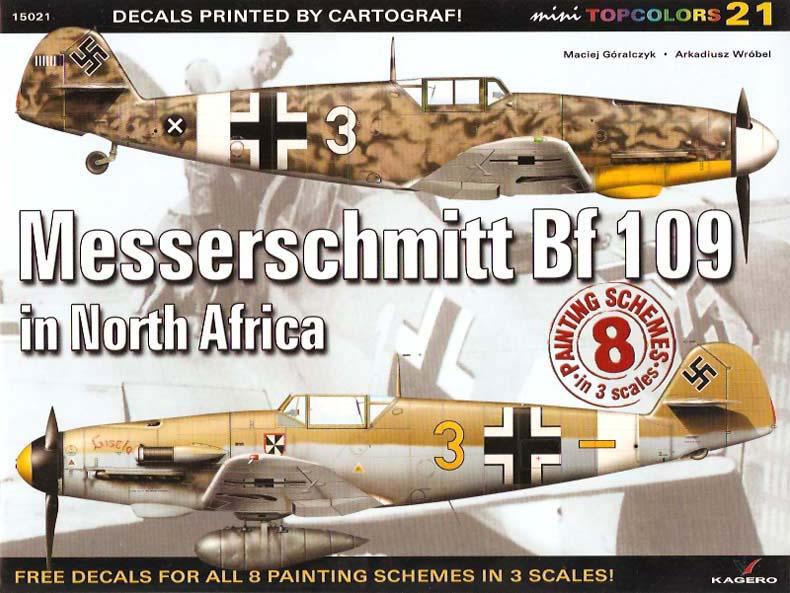 Kagero Mini Top Colors 21 Messerschmitt Bf 109 In North