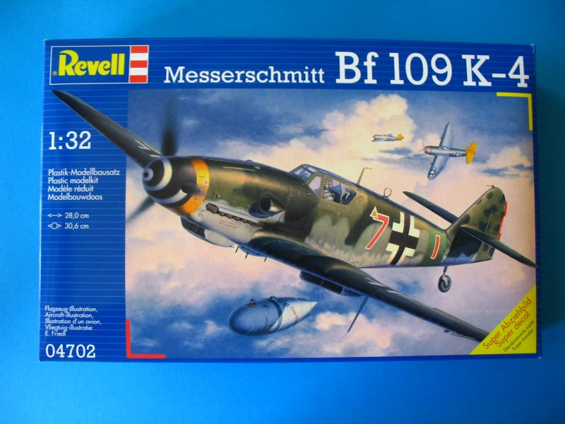 Revell 04702: 1/32 Messerschmitt Bf 109K-4 | Large Scale Planes