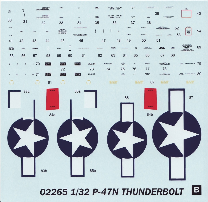 Trumpeter 1 32 Republic P 47n Thunderbolt Large Scale Planes