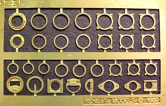 Reheat RH023 1/32 Vintage Instrument Bezels | Large Scale Planes